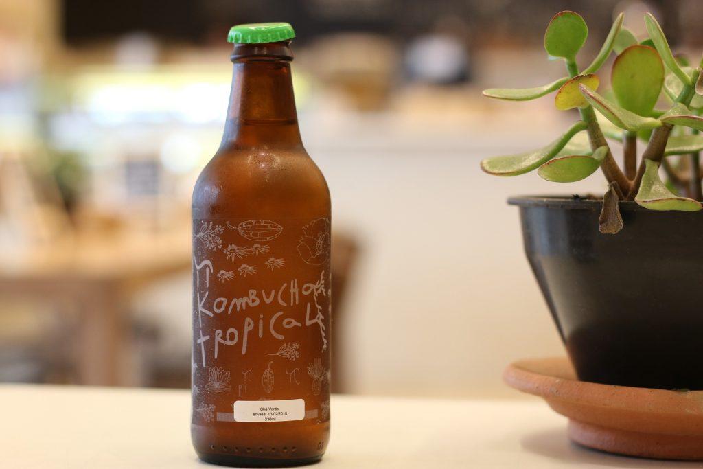 bouteille de kombucha