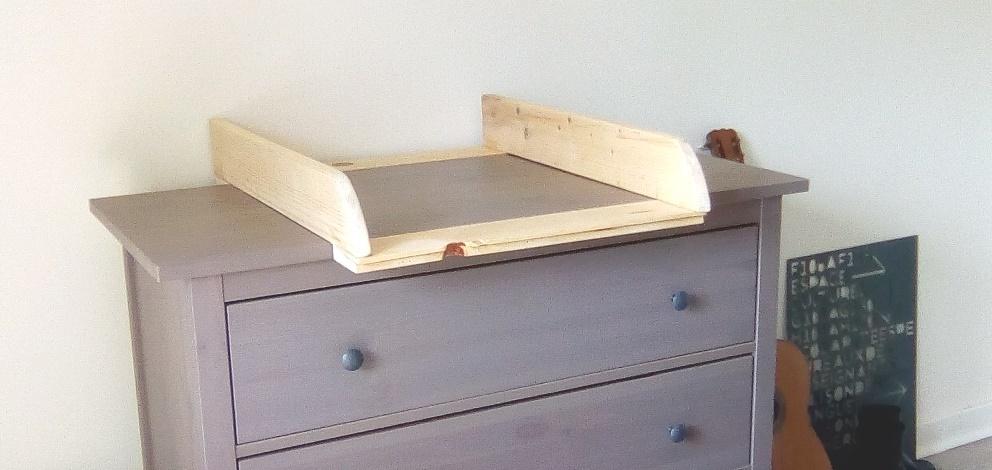 Fabriquer table à langer