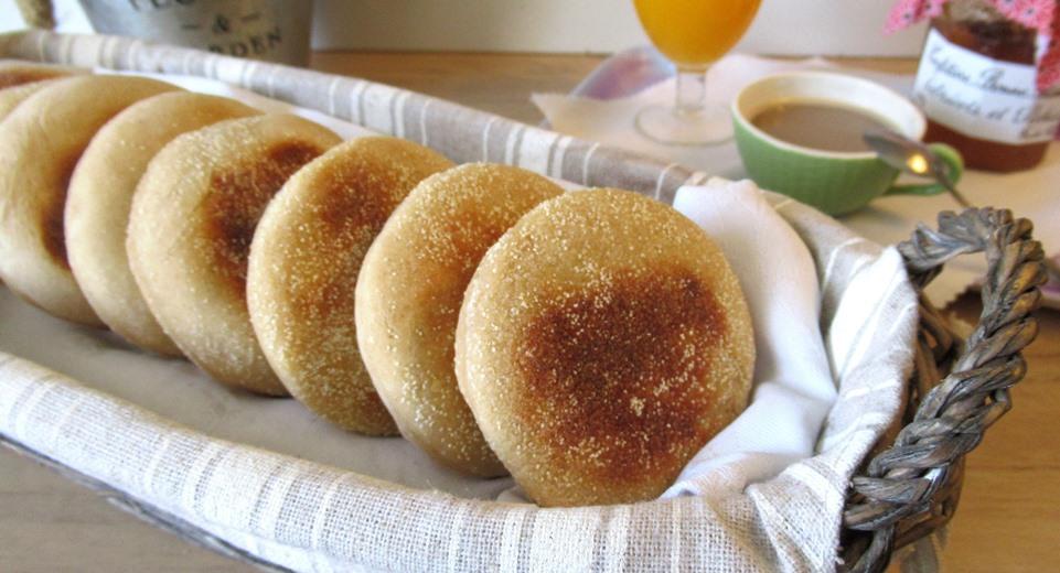 muffin anglais farine complète