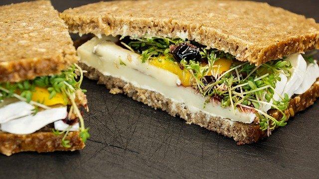 sandwich graine germée