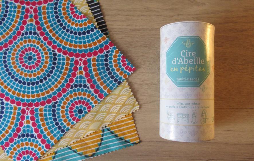 DIY Bee's Wrap: tissu et cire